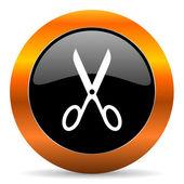 Scissors icon — Stock Photo