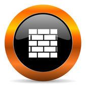 Firewall icon — Stock Photo