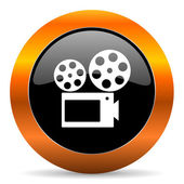 Movie icon — Stock Photo