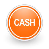 Cash icon — Stock Photo