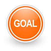 Goal icon — Stock Photo