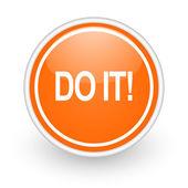 Do it icon — Stock Photo