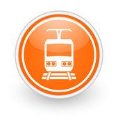 Train icon — Stock Photo