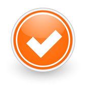 Accettare l'icona — Foto Stock
