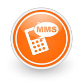 Mms icon — Stock fotografie