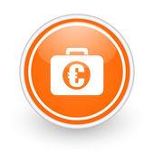 Financiële pictogram — Stockfoto
