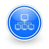Network icon — Stock Photo