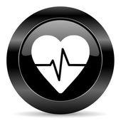 пиктограмма «пульс» — Стоковое фото