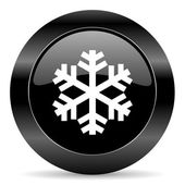 Snow icon — Stock fotografie