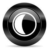 Moon icon — Stock Photo