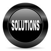 çözümleri simgesi — Stok fotoğraf