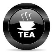 Tea icon — Stock Photo