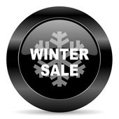 Winter sale icon — Foto Stock