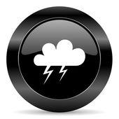 Storm icon — Stock Photo