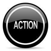 Action icon — Stock Photo