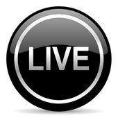 Live icon — Stock Photo