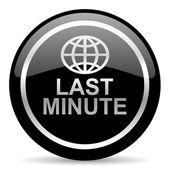 Last-minute pictogram — Stockfoto