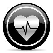 Pulse icon — Stock Photo