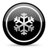Snow icon — Stockfoto