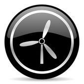 Icona del mulino a vento — Foto Stock