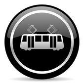 Icona del tram — Foto Stock