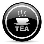 ícone de chá — Fotografia Stock