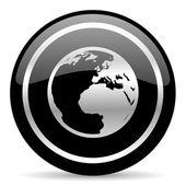 Earth icon — Stock Photo