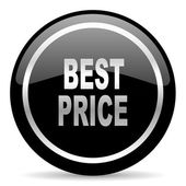 Best price icon — Stok fotoğraf