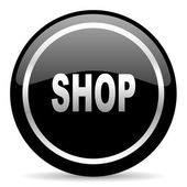 Shop icon — Stock fotografie