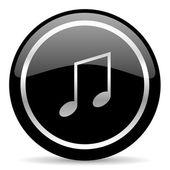 Icona della musica — Foto Stock