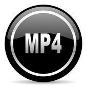Mp4 のアイコン — ストック写真