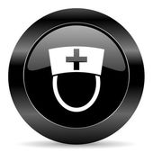 Nurse icon — Stock Photo