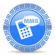 Mms icon — Stock Photo #41062579