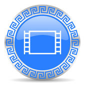 Movie icon — Stock fotografie