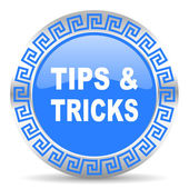 Tips tricks icon — Stock Photo