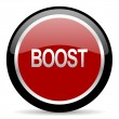 Stock Photo: Boost icon