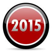 New year 2015 icon — Stock Photo