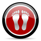 Foot icon — 图库照片