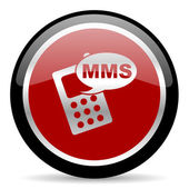 Mms button — Stockfoto