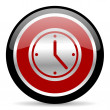 Time icon — Stock Photo