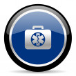 Rescue kit icon — Stock Photo