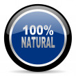 Natural icon — Stock Photo