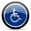 Wheelchair icon — Stock Photo #41282605