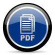 Stock Photo: Pdf icon,