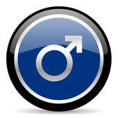 Male icon — Stock Photo