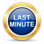 Last minute icon — Stock Photo #42687961
