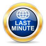 Last minute icon — Stock Photo #42687963