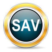 Sav icon — Stock Photo