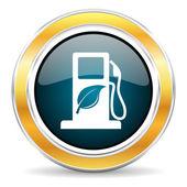 Ikona biopaliv — Stock fotografie