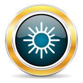 Sun icon — Stock Photo